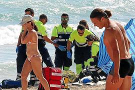 Muere ahogado un turista checo de 67 años que nadaba en aguas de Sa Coma