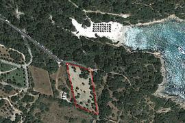 El aparcamiento privado de Cala sa Nau en zona protegida funciona de manera ilegal