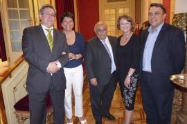 El Parlament entrega la Medalla de Honor a Félix Pons, Raimundo Clar y Editorial Moll
