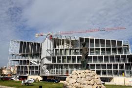 El lunes se reanudan las obras del Palacio de Congresos de Palma