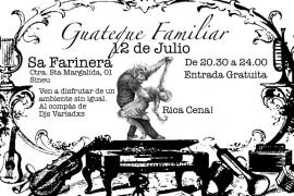 Guateque familiar con música y comida
