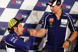 Rossi: «Estaré contento si Jorge sigue en Yamaha»