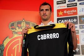 Cabrero: «Estoy motivado por el reto de volver a Primera»