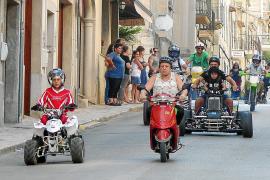 La Part Forana revive la tradición de las 'beneïdes' de vehículos por Sant Cristòfol
