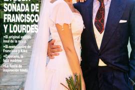 Francisco Rivera y Lourdes Montes se casan por la Iglesia