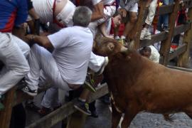 Último encierro San Fermín 2014