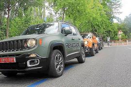 El Jeep Renegade recorre por primera vez las calles de Madrid