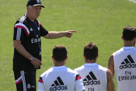 El Real Madrid completa el primer entrenamiento de pretemporada
