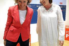 Armengol intenta que Calvo vuelva a ser candidata a Palma o proponga una alternativa