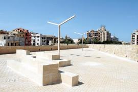 Patrimoni rechaza «legalizar» las farolas del Baluard del Príncep