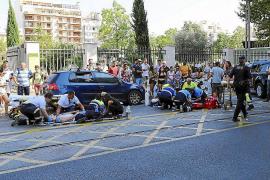 Dos motoristas heridos, uno de ellos muy grave, en un accidente en Eusebi Estada