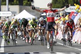 Gallopin se impone en la undécima etapa del Tour