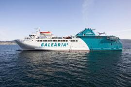 Baleària inicia por primera vez trayectos directos entre Palma y Formentera