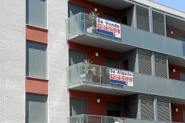 El alquiler de la vivienda en Balears subió un 2,4 % en el segundo trimestre