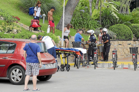 Heridos graves dos jóvenes turistas precipitados en Magaluf y s'Arenal