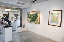 Galeries Micer32  expone la obra de Aligi Sassu