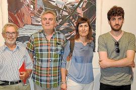 Inauguración del Certamen de Artes Plásticas en el Museu de Pollença