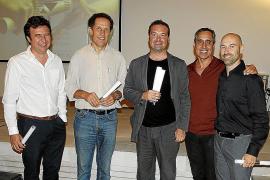 Entrega de premios en la sede del Colegio de Arquitectos
