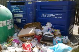 Consell suspende en reciclaje y se plantea multar a los vecinos que no cumplen