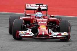 Alonso: «Me gustaría estar luchando por el podio, pero es lo que toca»