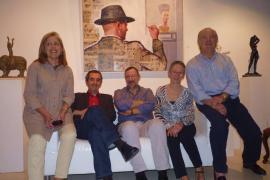 La Galería El Temple inaugura una exposición con obra de Suari y Gomis