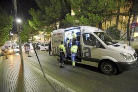 Otro joven resulta herido al precipitarse desde el tercer piso de un hotel en Magaluf