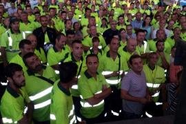 Los trabajadores de Emaya no descartan volver a convocar la huelga si el juez les da la razón
