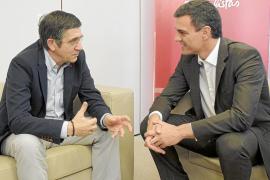 Patxi López ofrece una «dedicación absoluta» a la Ejecutiva de Pedro Sánchez
