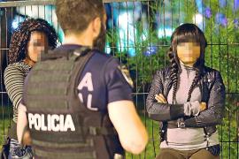 La prostitución se ha reducido un 70 % en la Platja de Palma en el último mes