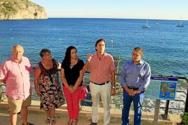 Camp de Mar inaugura el mirador Tomás Harris en honor al espía británico