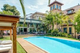 Un empresario mallorquín condenado por narcotráfico vende su mansión de Pedralbes
