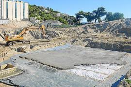 Las obras de Camp de Mar eliminan una era tras no ser reconocida por el Consell