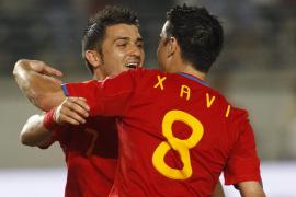 España coge la forma antes del Mundial (6-0)