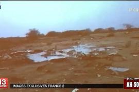 Hallados en Mali los restos del avión 'desintegrado' y sin supervivientes
