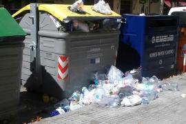 El PSIB lamenta la falta de limpieza en Palma a pesar de los beneficios de Emaya