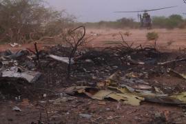 Hallado el avión estrellado en Mali