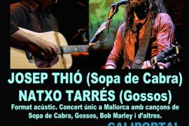 Josep Thió y Natxo Tarrés, en acústico