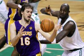 Los Lakers se imponen a los Celtics