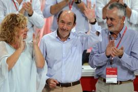 Rubalcaba se despide con lágrimas: «El PSOE no me debe nada y yo le debo todo»