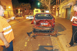 Los testigos de un accidente en Palma 'cazan' al causante, que huía