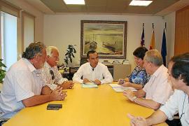 Reunión sobre comercio
