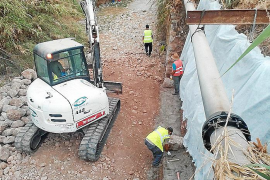 Comienzan, por fin, las obras de sustitución del colector de residuales en Sóller