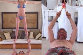Yoga de puyol y su novia (parodia)