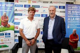 Del Bosque afirma en Palma que la Roja volverá a estar a la altura de las mejores