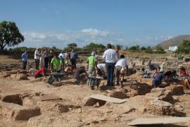 Afinan la búsqueda del puerto de la ciudad romana de Pol·lèntia