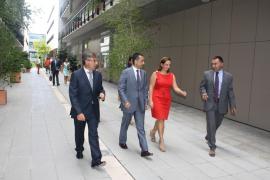 La ministra de Turismo de México realiza una visita al Parc Bit