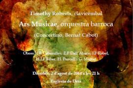 Timothy Roberts toca música del barroco