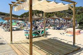 Cala Mondragó se convierte en una de las playas más accesibles de la Isla
