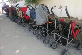 Los permisos por maternidad caen un 9 % en el primer semestre en Baleares