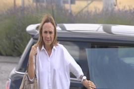 Maite Areal visita a Matas en la cárcel